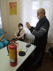 тренировка в поликлинике